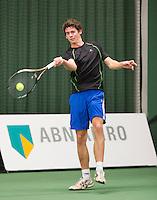 19-01-13, Tennis, Rotterdam, Wildcard for qualification ABNAMROWTT, Tom Smit