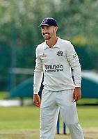 21st September 2021; Aigburth, Merseyside, England; County Championship Cricket, Lancashire versus Hampshire, Day 1; Josh Bohannon of Lancashire