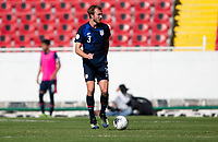 GUADALAJARA, MEXICO - MARCH 28: Henry Kessler #3 of the United States moves with the ball during a game between Honduras and USMNT U-23 at Estadio Jalisco on March 28, 2021 in Guadalajara, Mexico.