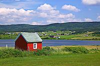 Seaside shack, Nova Scotia, Canada