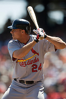 12 April 2008: #24 Rick Ankiel of the Cardinals is seen at bat during the St. Louis Cardinals 8-7 victory over the San Francisco Giants at the AT&T Park in San Francisco, CA.