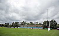 General view of London Welsh Rugby Stadium at Old Deer Park, Richmond, England on 9 September 2016. Photo by Andy Rowland.