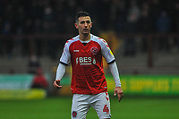 Fleetwood Town's midfielder Jason Holt (4) during the Sky Bet League 1 match between Fleetwood Town and Burton Albion at Highbury Stadium, Fleetwood, England on 15 December 2018. Photo by Stephen Buckley / PRiME Media Images.