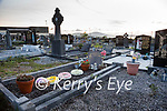 The grave of Baby John at Holy Cross Cemetery in Cahersiveen.