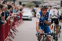 Defending national champion Philippe Gilbert (BEL/Quick Step floors) right before the start of the race<br /> <br /> 2017 National Championships Belgium - Elite Men - Road Race (NC)<br /> 1 Day Race: Antwerpen > Antwerpen (233km)
