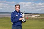 The Senior Open Championship Presented by Rolex Media Day.<br /> Defending Champion Paul Broadhurst.<br /> Royal Porthcawl<br /> 26.04.17<br /> ©Steve Pope - Sportingwales