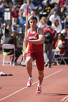 5 April 2008: Benjamin Dickens during the Stanford Invitational at the Cobb Track and Angell Field in Stanford, CA.