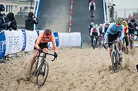 defending U23 World Champion Ryan Kamp (NED/Pauwels Sauzen-Bingoal)<br /> <br /> UCI 2021 Cyclocross World Championships - Ostend, Belgium<br /> <br /> U23 Men's Race<br /> <br /> ©kramon