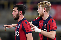 Arturo Calabresi and Filip Helander of Bologna reacts during the Italy Cup 2018/2019 football match between Bologna and Juventus at stadio Renato Dall'Ara, Bologna, January 12, 2019 <br />  Foto Andrea Staccioli / Insidefoto