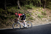Connor Swift (GBR/Arkea Samsic) in the descent of the Col de Beixalis<br /> <br /> Stage 15 from Céret to Andorra la Vella (191km)<br /> 108th Tour de France 2021 (2.UWT)<br /> <br /> ©kramon
