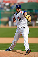 Randy Wells - Chicago Cubs - 2009 spring training.Photo by:  Bill Mitchell/Four Seam Images