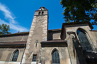 Switzerland, Geneva, Church in old town.
