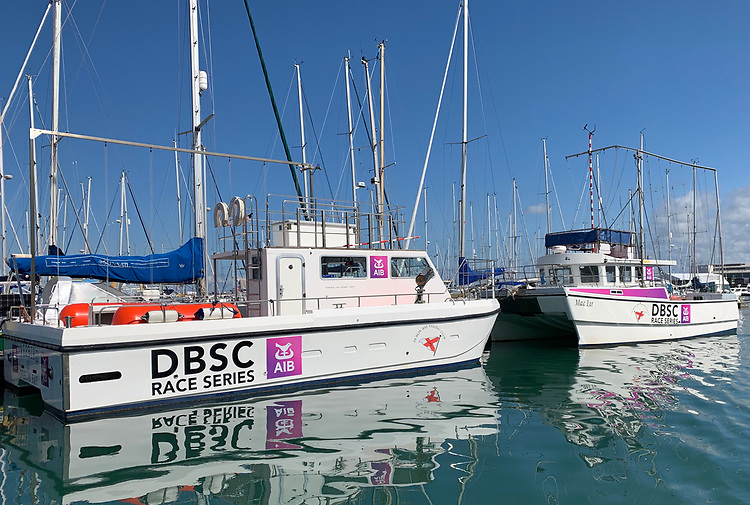DBSC Committee vessels (pictured) will run in a pod system and all participants should also ensure their boats are organised in pods