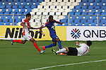TAMPINESROVERS GK Izwan Tring to stop the ball  during match AFCCQF1 – AFC Cup 2016 Quarter Finals<br /> JSWBENGALURUFC(IND) – JSW Bengaluru FC (India)<br /> vs<br /> TAMPINESROVERS(SIN) – Tampines Rovers (Singapore)<br /> at Kanteerava Stadium, Bangalore, Karnataka on 14th Septembar 2016.<br /> Photo by Saikat Das/Lagardere Sports