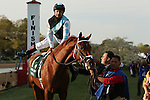 April 12, 2014: #1 Danza with jockey Joe Bravo aboard before the running of the Arkansas Derby at Oaklawn Park in Hot Springs, AR. Justin Manning/ESW/CSM