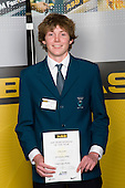 Boys Underwater Hockey winner Toby Scott fromm Glendowie College. ASB College Sport Young Sportperson of the Year Awards 2008 held at Eden Park, Auckland, on Thursday November 13th, 2008.
