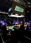 Four handed to start level 31 of the Main Event.