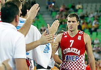 "Bojan Bogdanovic of Croatia during European basketball championship ""Eurobasket 2013""  basketball game for 3rd place between Spain and Croatia in Stozice Arena in Ljubljana, Slovenia, on September 22. 2013. (credit: Pedja Milosavljevic  / thepedja@gmail.com / +381641260959)"