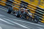 Felix Rosenqvist races the Formula 3 Macau Grand Prix during the 61st Macau Grand Prix on November 15, 2014 at Macau street circuit in Macau, China. Photo by Aitor Alcalde / Power Sport Images