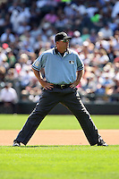 August 15 2008:  Umpire Ron Kulpa during a game at U.S. Cellular Field in Chicago, IL.  Photo by:  Mike Janes/Four Seam Images