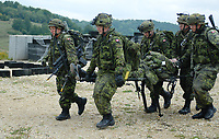 2008 file photo - Canadian Army Training -