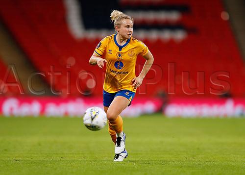 1st November 2020; Wembley Stadium, London, England; Womens FA Cup Final Football, Everton Womens versus Manchester City Womens; Izzy Christiansen of Everton Women
