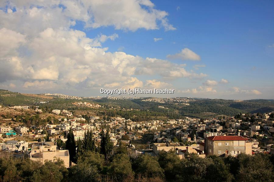 Israel, Abu Gosh in the Jerusalem Mountains