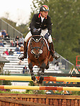 03 October 2010.  Michael Jung and La Biosthetique-Sam FBW from Germany win the Individual Gold for Eventing.