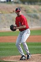Matt Wilhite - Los Angeles Angels 2009 spring training.Photo by:  Bill Mitchell/Four Seam Images