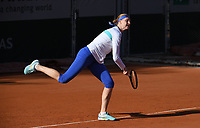 26th September 2020, Roland Garros, Paris, France; French Open tennis, Roland Garros 2020; Alisson Van Uytvanck of Belgium during practice session