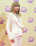 Taylor Swift at The 2012 MTV Video Music Awards held at Staples Center in Los Angeles, California on September 06,2012                                                                   Copyright 2012  DVS / Hollywood Press Agency