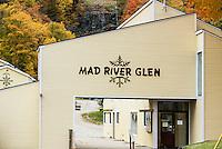 Mad River Glen Ski Resort in autumn, Vermont, USA.