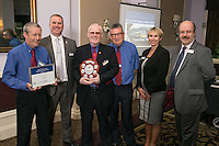 The team from Chesterfield Train Station, winners of the East Midlands Trains Best Medium Station