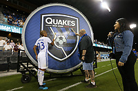 SAN JOSE, CA - JULY 27: Judson during a Major League Soccer (MLS) match between the San Jose Earthquakes and the Colorado Rapids on July 27, 2019 at Avaya Stadium in San Jose, California.
