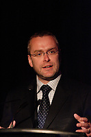 Montreal (QC) CANADA - May 14  2009 - Claude BECHARD,<br /> Depute de Kamouraska-Temiscouata,<br /> Parti liberal du QuÈbec,<br /> Ministre des Ressources naturelles et de la Faune, au Genesis GalaMontreal (Qc) CANADA -  FILE PHOTO of Quebec Minister Claude Bechard who just died of cancer at 41