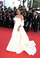 RIHANNA<br /> Okja Red Carpet Arrivals - The 70th Annual Cannes Film Festival<br /> CANNES, FRANCE - MAY 19: attends the 'Okja' screening during the 70th annual Cannes Film Festival at Palais des Festivals on May 19, 2017 in Cannes