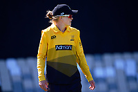 Wellington's Maddy Green during the Hallyburton Johnstone Shield women's cricket match between Wellington Blaze and Otago Sparks at the Basin Reserve in Wellington, New Zealand on Sunday, 14 March 2021. Photo: Dave Lintott / lintottphoto.co.nz