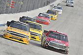 #25: Dalton Sargeant, GMS Racing, Chevrolet Silverado Performance Plus Motor Oil, #54: David Gilliland, DGR-Crosley, Toyota Tundra Frontline Enterprises Inc/CROSLEY Brands