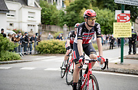 Brent Van Moer (BEL/Lotto Soudal) @ finish line roll-out<br /> <br /> Stage 3 from Lorient to Pontivy (183km)<br /> 108th Tour de France 2021 (2.UWT)<br /> <br /> ©kramon