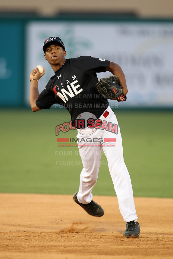 Miguel Torres during the Team One Futures Showcase East at Roger Dean Stadium on October 1, 2011 in Jupiter, Florida.  (Mike Janes/Four Seam Images)