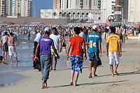 Tripoli, Libya - Beach Scene, Young Libyan Men Walking, Sports Wear