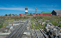 I first land at an old, dilapidated boat ramp on Norrskär Lighthouse Island in the Gulf of Bothnia, Finland