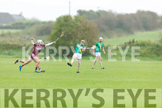 Action from Kilmoyley v Causeway in the North Kerry Senior Hurling Championship final