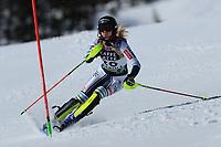 20th February 2021; Cortina d'Ampezzo, Italy; FIS Alpine World Ski Championships, Women's Slalom  Ana Bucik (SLO)
