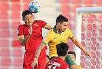Vietnam vs Australia during the AFC U23 Championship 2016 Group D match on January 17, 2016 at the Grand Hamad Stadium in Doha, Qatar. Photo by Fadi Al-Assaad / Lagardère Sports