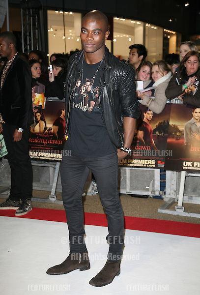 BB arriving for the UK premiere of The Twilight Saga: Breaking Dawn Part 1 at Westfield Stratford City, London. 17/11/2011 Picture by: Alexandra Glen / Featureflash