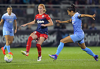 Boyds, MD - Friday Sept. 30, 2016: Tori Huster during a National Women's Soccer League (NWSL) semi-finals match between the Washington Spirit and the Chicago Red Stars at Maureen Hendricks Field, Maryland SoccerPlex. The Washington Spirit won 2-1 in overtime.