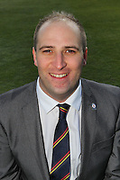 Commercial Director Danny Macklin of Essex CCC - Essex County Cricket Club Press Day at the Essex County Ground, Chelmsford, Essex - 02/04/13 - MANDATORY CREDIT: Gavin Ellis/TGSPHOTO - Self billing applies where appropriate - 0845 094 6026 - contact@tgsphoto.co.uk - NO UNPAID USE.