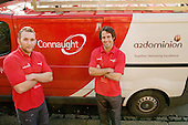 Connaught maintenance staff at the A2Dominion home of Anne Murray, Ealing.