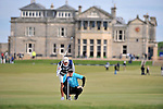 Pic Kenny Smith............. 05/10/2009.Dunhill Links Championship, St Andrews Links final day, Richie Ramsay lines up his putt on 17